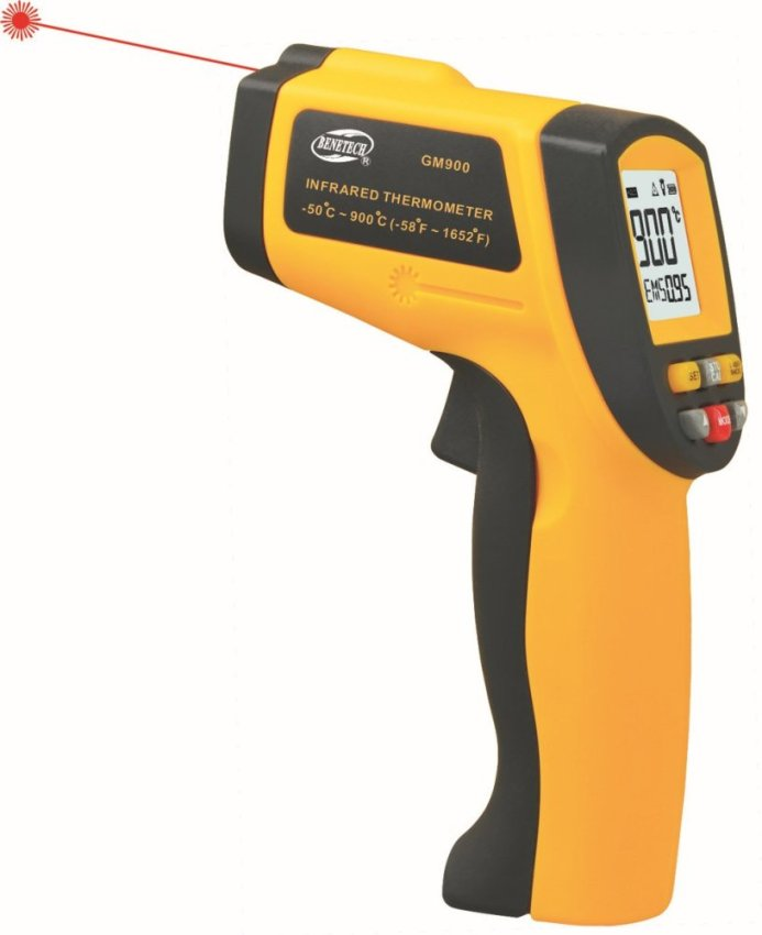 "Infrared Thermometer ""Benetech"" Model GM900"